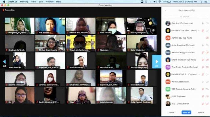 Bina Bahasa Jaya USM Semarang Gelar IELTS Simulation Test Bersama The Bright English