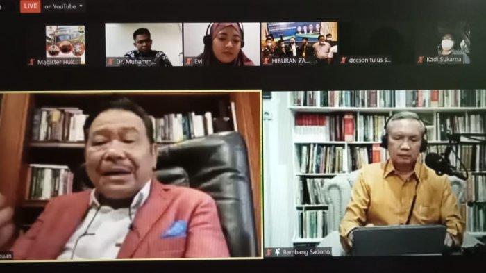 Magister Hukum USM Bikin Webinar Masa Depan Advokat Bareng DPN Peradi