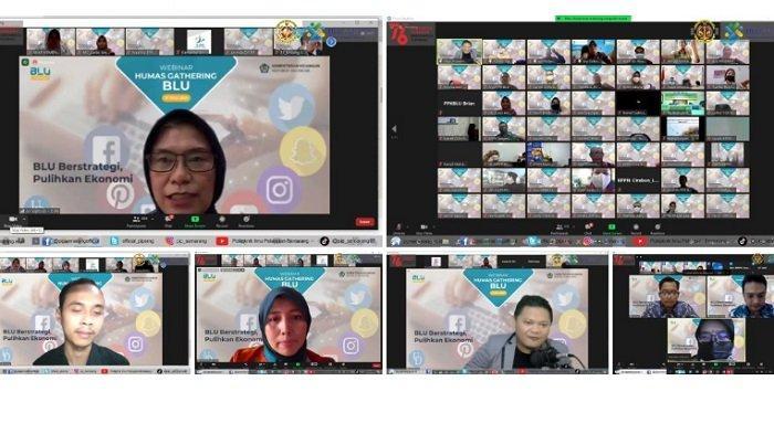 Politeknik Ilmu Pelayaran Semarang Ikuti Webinar Humas Gathering BLU, Strategi Pulihkan Ekonomi