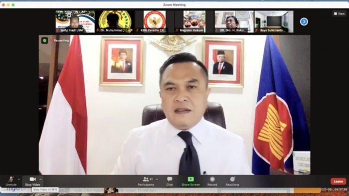 Magister Hukum USM Gandeng Dubes Panama Gelar Webinar Tentang Kebijakan Diplomasi Saat Pandemi