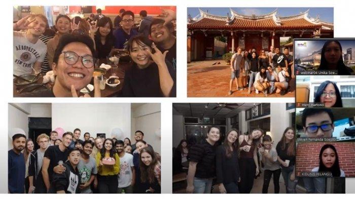 IACO Unika Motivasi Mahasiswa Ikut Program Pertukaran Pelajar Internasional