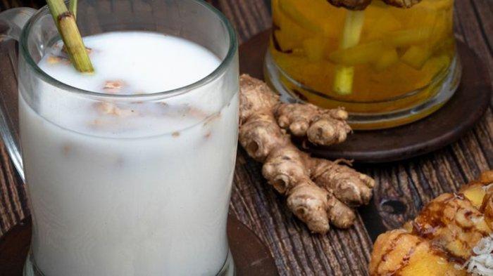 Meracik Sendiri Jahe Susu, Minuman yang Lezat, Berkhasiat dan Mudah Dibuat, Ini Resepnya