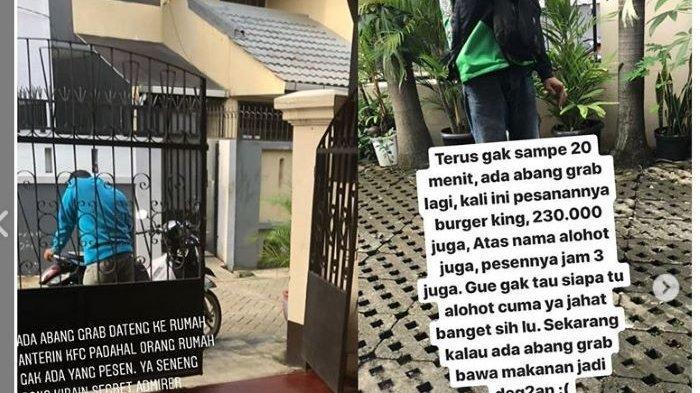 Viral Wanita Ini Jadi Korban Order Makanan Fiktif Sampai 11 Kali, Ojol Terus Berdatangan
