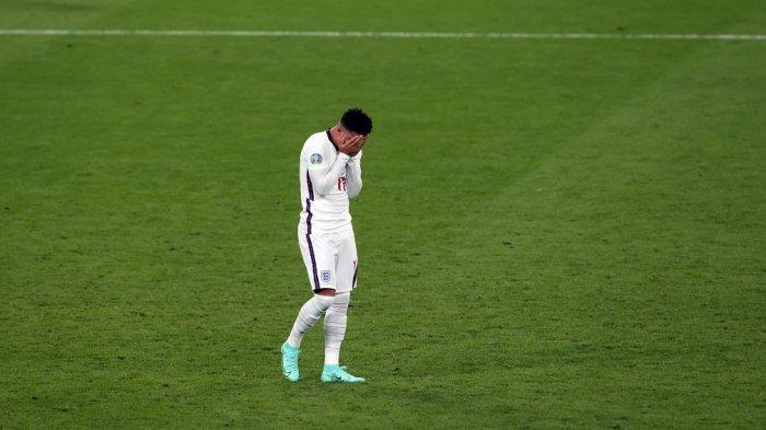 Jadon Sancho Ungkap Perasaannya Dibully Penggemar karena Gagal Penalti di Final Euro 2020