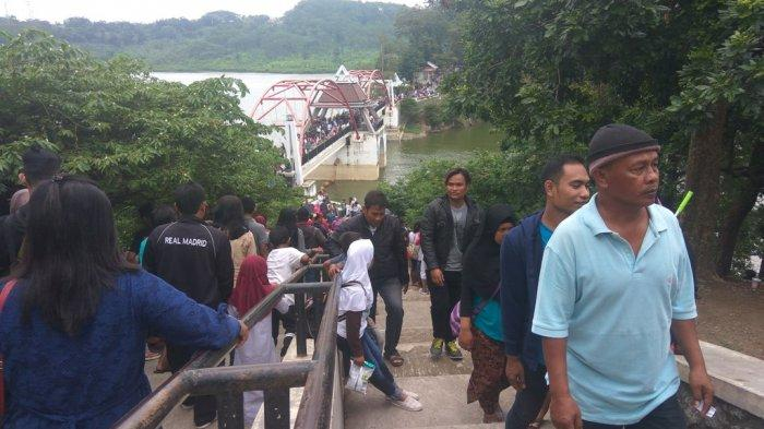 Kunjungan ke Goa Kreo Semarang Libur Nataru Rata-rata 1.500 Wisatawan Per Hari