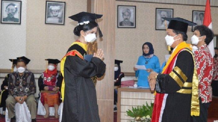 Wisuda Untag ke 83, Ganjar Pranowo motivasi 1.106 Wisudawan
