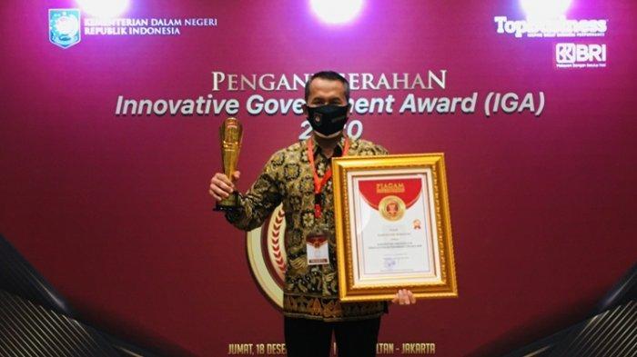 Wonogiri Raih Penghargaan IGA 2020 Kategori Kabupaten Terinovatif