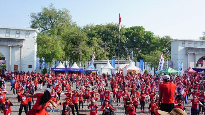WOW, Lebih dari 3.000 Peserta Ikuti Acara Tribun Jateng Melangkah Bersama Paramex