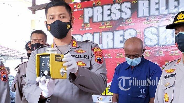 Habis Mencuri Barang Bernilai Ratusan Juta, WS Bingung Dijual Kemana, Ini pengakuannya ke Polisi