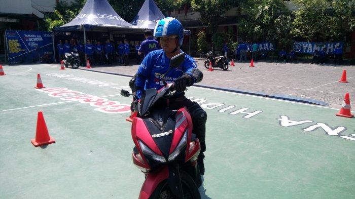 Asperindo Jateng Latih Kurirnya untuk Safety Riding