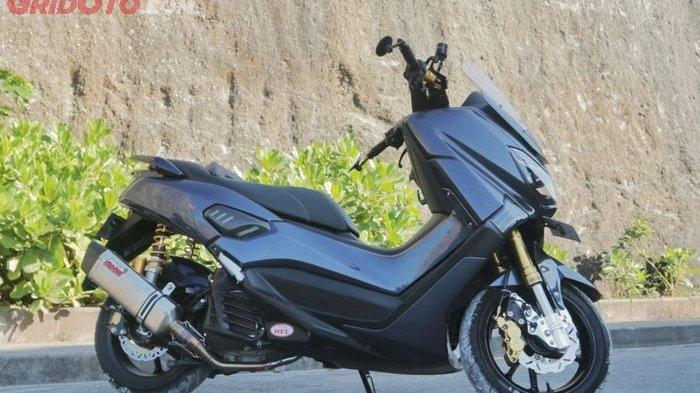 Modifikasi Motor Keren Yamaha NMAX Polesan Anak Bali Gaya Fashion Daily