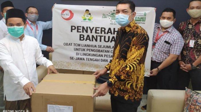Yayasan Muslim Sinarmas dan Paguyuban Sinarmas Donasikan Ribuan Suplemen Kesehatan