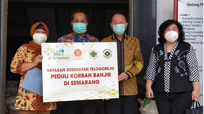 Yayasan Kesehatan Telogorejo Beri Bantuan Logistik Korban Banjir Semarang