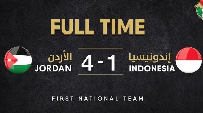 Kalah 4-1 dari Yordania, Mungkinkah Karena Timnas Indonesia Pakai Skema Baru 3-4-3?