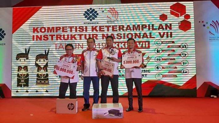 Instruktur IT UPTD Technopark Sragen Raih Juara Satu KKIN 2019