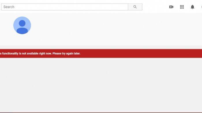 Netizen Twitter Bikin Tagar #youtubedown Youtube Down Hari Ini, Tak Bisa Unggah Video