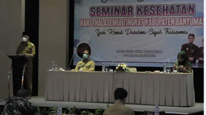 Seminar Kesehatan Hari Thalasemia di Banyumas, Bupati Minta KUA Tingkatkan Screening