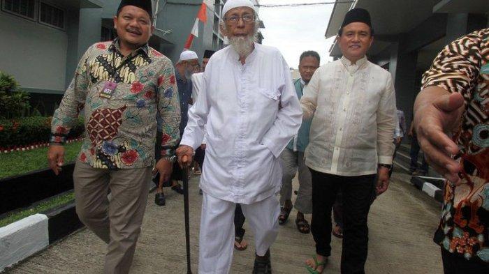 Keluarga Sudah Siapkan Menu Favorit Ustadz Abu Bakar Baasyir, Disajikan Saat Hari Pembebasan