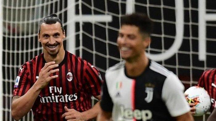 Jadwal Bola, Klasemen, Top Skor dan Link Live Streaming Serie A Liga Italia, Juventus Vs AC Milan