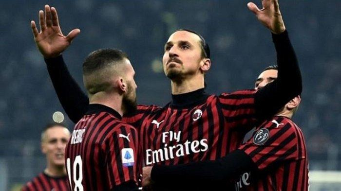 Nonton TV Online Ini Link Live Streaming AC Milan Vs Cagliari Liga Italia, Ibra Betah di San Siro