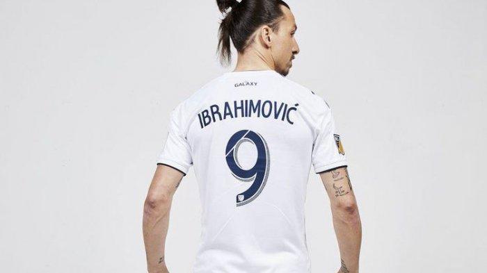 Ibrahimovic Pamerkan Jersey Hammarby IF, Klub Sepak Bola Asal Swedia