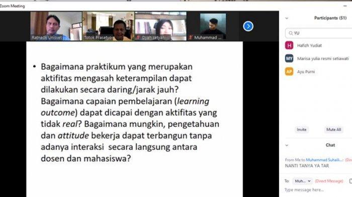 Strategi Pembelajaran Mahasiswa Vokasi Fakultas Kemaritiman Universitas Ivet Semarang