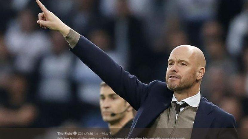 Profil Erik Ten Hag, Pelatih Ajax Diusulkan Guardiola ke Laporta untuk  Gantikan Koeman di Barcelona - Tribunjateng.com