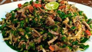 Resep dan Cara Membuat Sambal Lawar Ayam Khas Bali