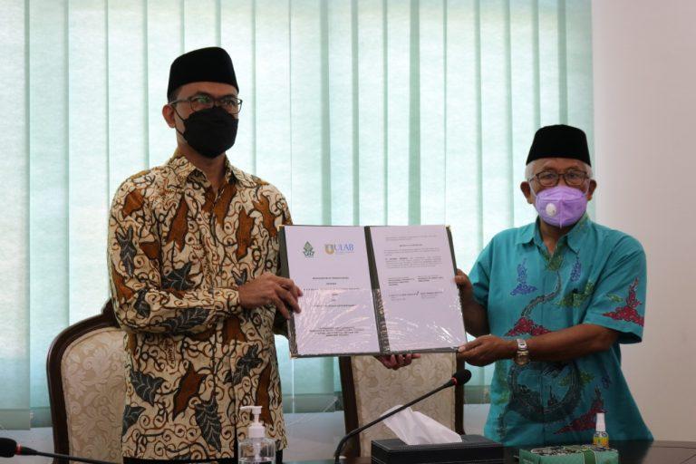 Daring antara Universitas Islam Negeri (UIN) Walisongo Semarang bersama University of Liberal Arts Bangladesh. Rabu (8/7/2021)
