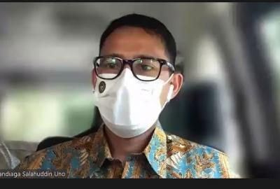 Menparekraf, Sandiaga Salahuddin Uno Ajak Mahasiswa Unsoed Ciptakan Inovasi dan kolaborasi