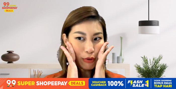 Tangkapan Layar Konferensi Pers 9.9 Super ShopeePay Deals