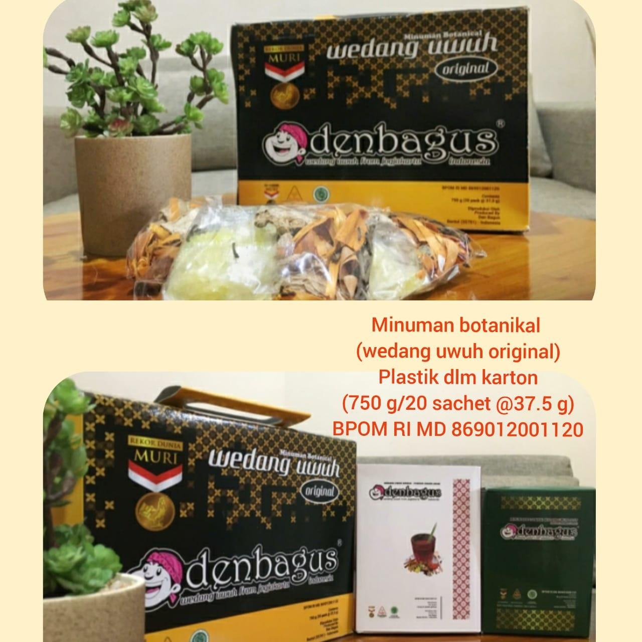 Varian produk Wedang Uwuh Den Bagus