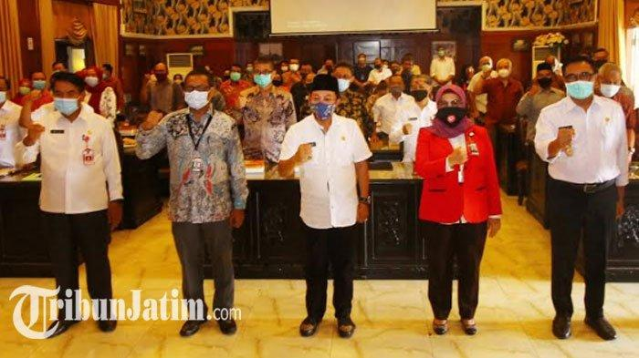 10 developer yang telah menyerahkan PSU ke Pemkot Malang, Rabu (7/10/2020).