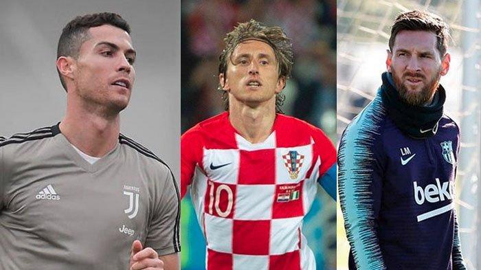 10 Pemain Sepak Bola Terbaik Dunia Sepanjang 2018, Ada Messi, Luka Modric hingga Cristiano Ronaldo