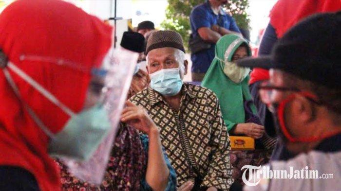 Merajut Asa dalam Semarak HLUN, 1000 Lansia Asal Sidoarjo Divaksinasi Oleh Dinkes Jatim
