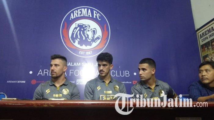 Komentar Manajemen Singo Edan Soal Absennya Trio Amerika Latin di Laga Persikabo Vs Arema FC