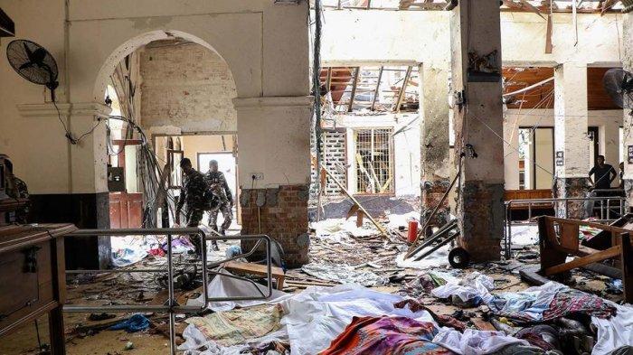 Detik-detik Aksi Pelaku Bom di Sri Lanka Terekam Kamera, Sempat Mengobrol dengan Para Jemaat