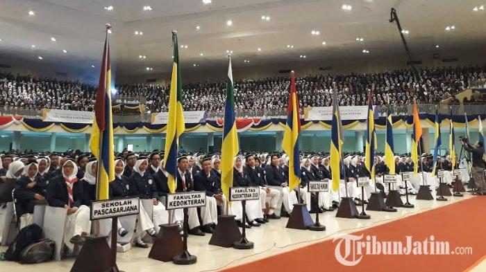 Rektor Unair Minta 6640 Mahasiswa Baru Berani Berperan Membangun Peradaban Bangsa