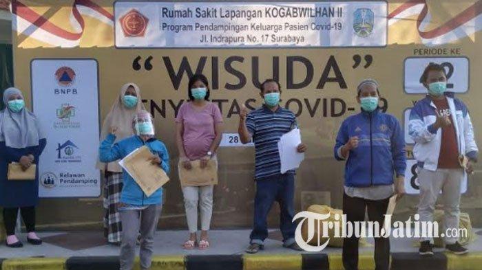Berkat Monitoring Ketat, Sudah 864 Pasien Covid-19 di RS Lapangan Kogabwilhan II Surabaya 'Diwisuda'