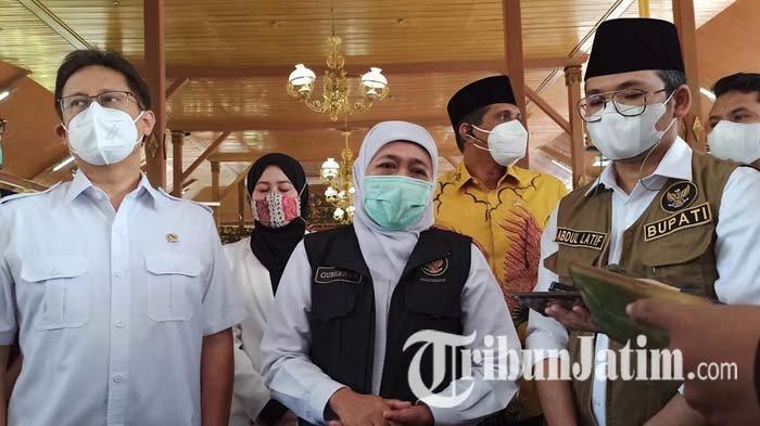 Menkes dan Kepala BNPB Tinjau Lonjakan Covid-19 Bangkalan, Dapat Laporan 46 Nakes Puskesmas Positif