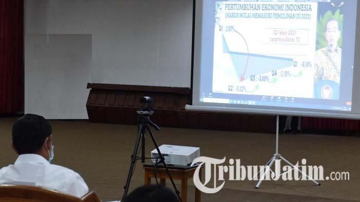 Kota Kediri Jaga Ekonomi Tetap Berjalan di Tengah Pandemi Covid-19 dengan Penguatan PPKM Mikro