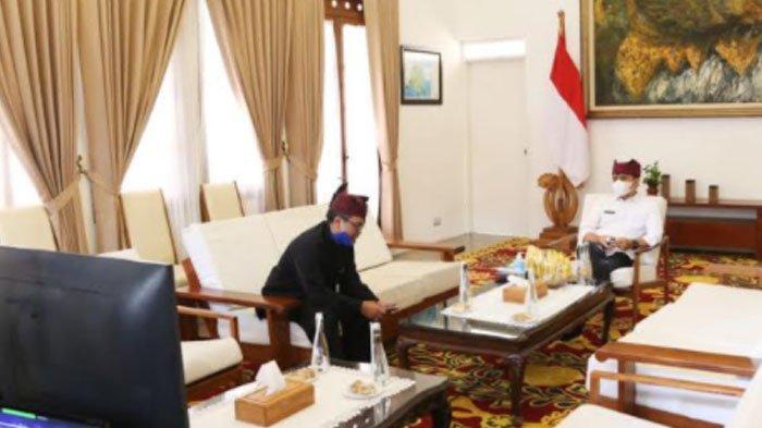 Bersama Gubernur DIY, Bupati Banyuwangi Anas Sharing Gagasan Pulihkan Pariwisata di Masa Pandemi