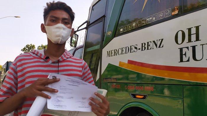 Kisah Pilu Kondektur Bus Tak Tega Lihat Penumpangnya Terpaksa Rapid Tes Dadakan di Jembatan Suramadu