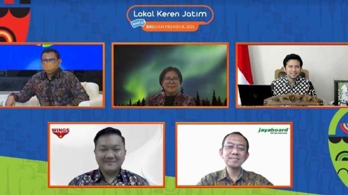 Jadi Mitra, Wings Food dan Jayaboard Siap Dukung Gerakan BBI di Pameran Virtual Lokal Keren Jatim