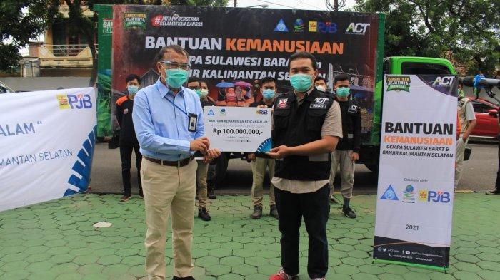 Tunjukan Persatuan di Tengah Bencana, PJB dan ACT Jatim Bersinergi, Salurkan Bantuan ke Sulbar