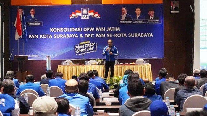 DPW Jatim Beri Target PAN Surabaya Tingkatkan Kursi Pada Pileg 2024, Semua Dapil Harus Sukses