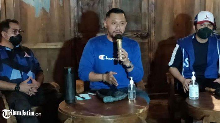 Apresiasi Kesolidan Kader, Agus Harimurti Yudhoyono Kumpulkan Pengurus Partai Demokrat Jawa Timur