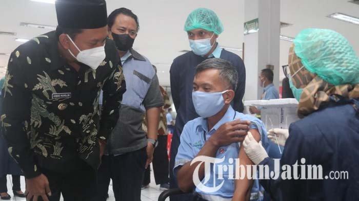 Ribuan Pegawai Tjiwi Kimia Ikuti Vaksinasi Gotong Royong, Akan Berlanjut kepada Keluarga Karyawan