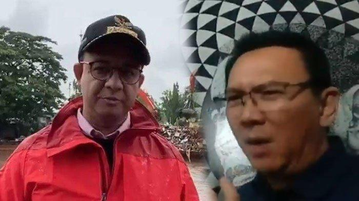 VIRAL Video Ahok Tanggapi Cara Anies Baswedan Tangani Banjir Jakarta, Kalimat Penutup Jadi Sorotan