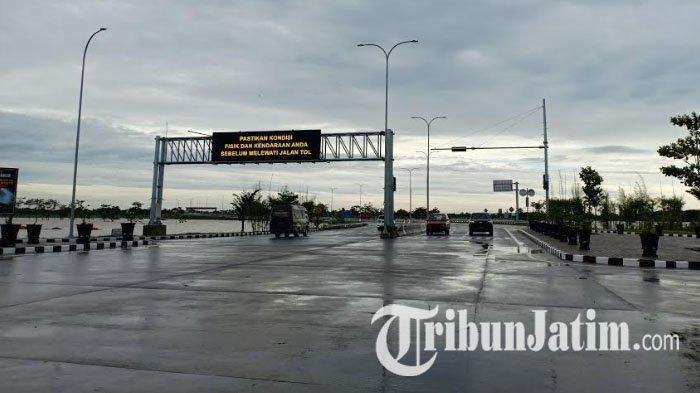 Air Setinggi 75 Sentimeter Meluap ke Jalan Tol Madiun Sepanjang 600 Meter, Ada Pengalihan Arus